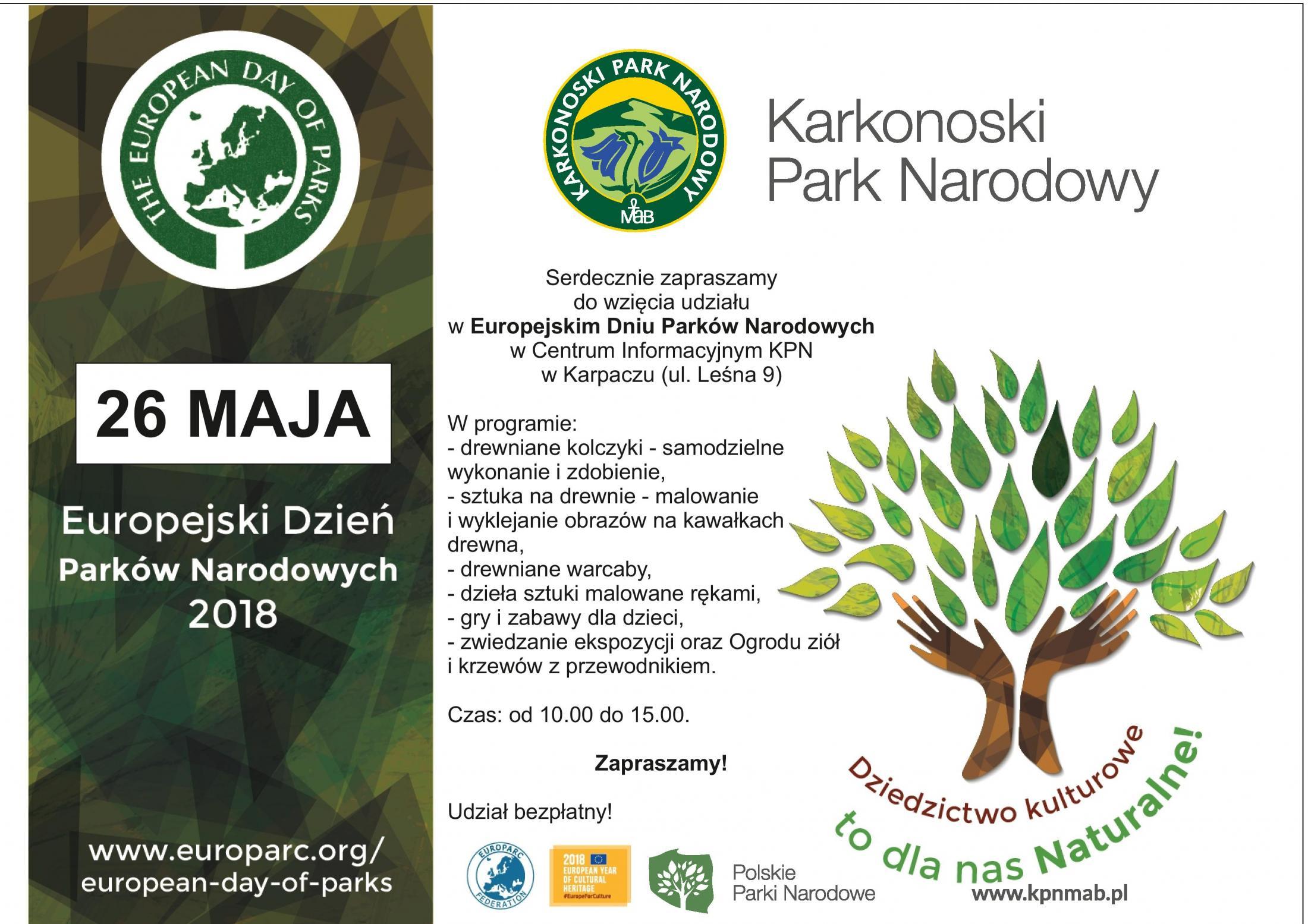 Zapraszamy Na Dzień Parków Narodowych Aktualności